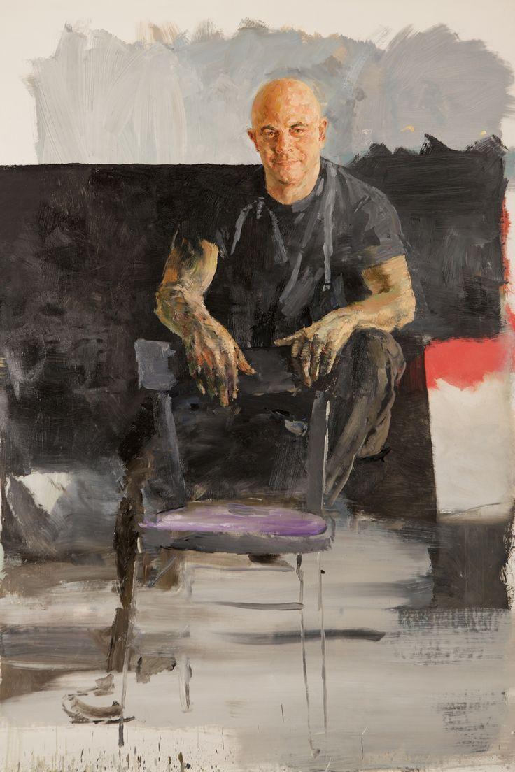 Velasco Vitali  MC, 2009. Oil on canvas, 185 x 133 cm