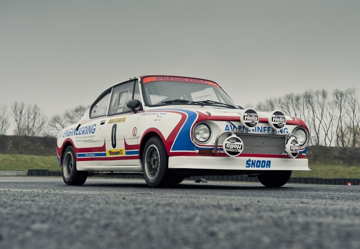 Skoda 130RS Rally Car.