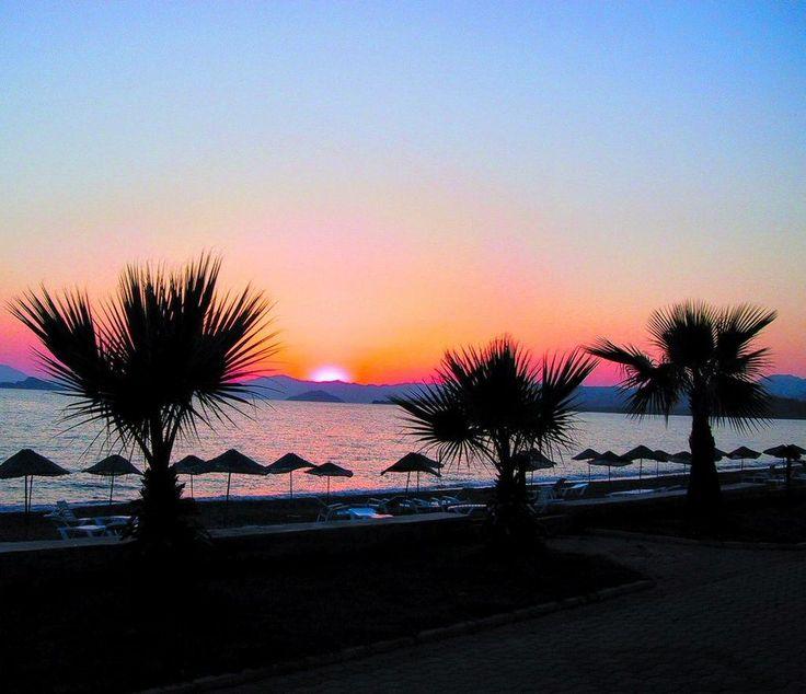 Sunset in #Calis #Fethiye #Turkey
