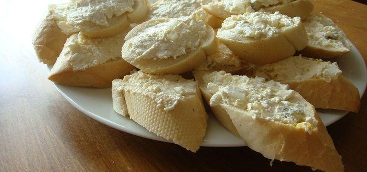 Pasta na kanapki z białego sera - main