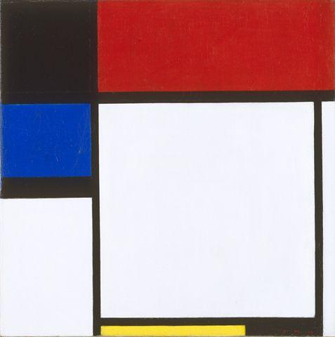 Composition No. III / Fox-Trot B | Piet MondrianOil On Canvas