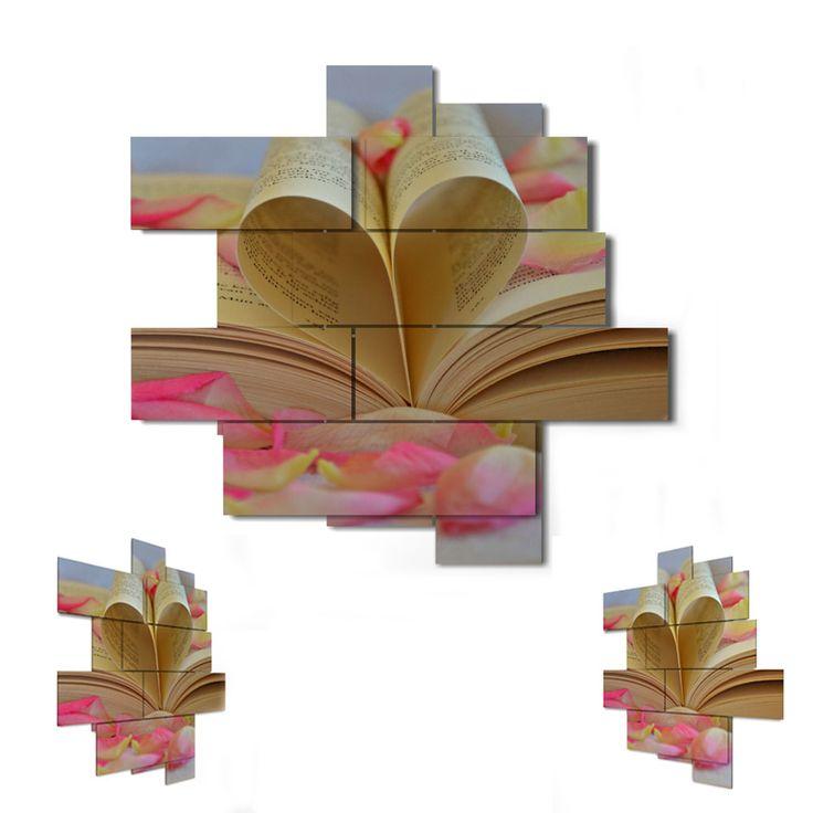11 pieces - 146 x 158 cm #quadri3D #design #wallart #multipanel #quadri