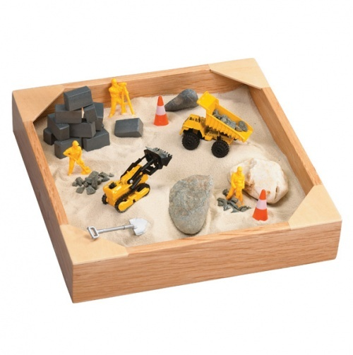 Toys For Sandbox : Indoor mini tabletop sandbox sensory boxes for kids