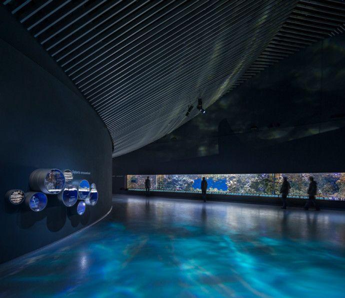 The Blue Planet, Denmark's Futuristic Vortex-Shaped Aquarium