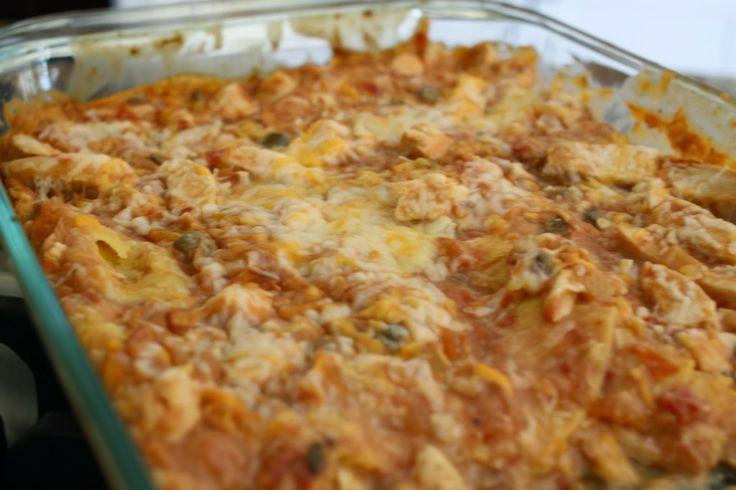 Chicken Tortilla Casserole | Yummy In My Tummy | Pinterest
