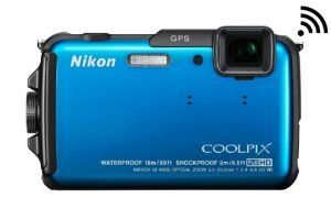 Nikon COOLPIX AW110 Wi-Fi and Waterproof Digital Camera with GPS