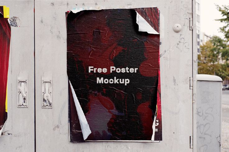 Free Wear Out Poster Mockup Free Design Resources In 2021 Poster Mockup Free Poster Mockup Poster Mockup Psd