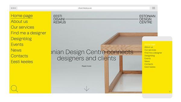 Estonian Design Centre on Behance