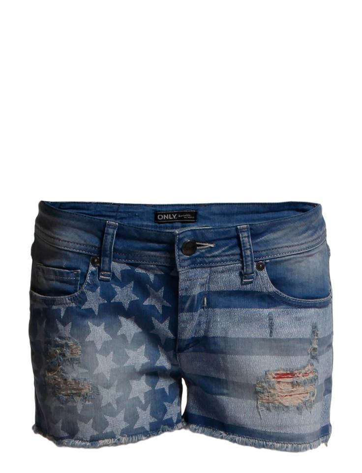 ONLY - Denim shorts - Boozt.com