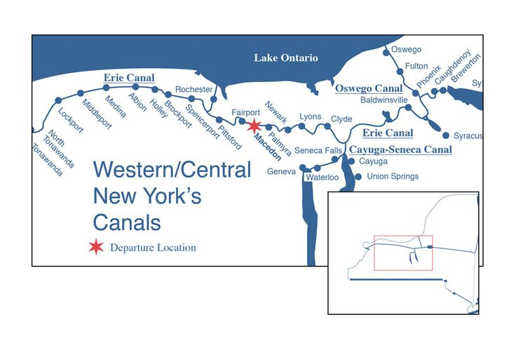Midlakes navigation erie canal boat trips with images