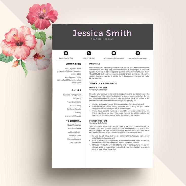 Hipster resume   Etsy Resume Templates Buy Resume And Cover Letter Templates Australia Sample It  Developer Cover Letter Examples Resume