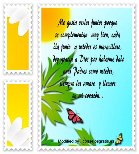 mensajes de texto para mis Padres, palabras para mis Padres: http://www.consejosgratis.es/frases-bonitas-para-mi-papas/