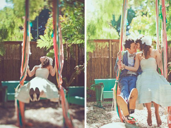 oooOOoooh, now I want the swing on the pecan tree... but it would be a bit distracting during the ceremony...  perhaps elsewhere?