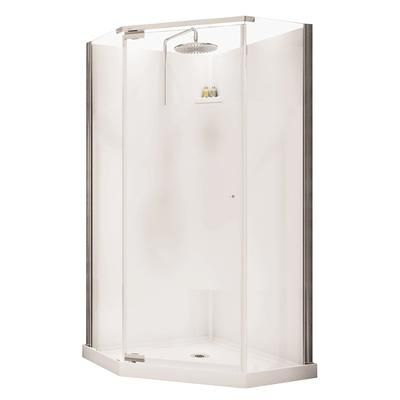 Maax Lobelia Neo Angle Polystyrene Frameless Shower Kit 105543 000 129 10