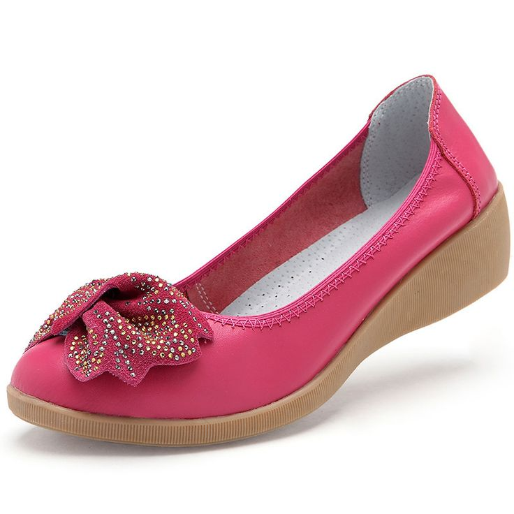 This is nice, check it out!   Shoes Women Flats 2015 Genuine Leather Size 35-40 5 Candy Colors Round Toe Bowtie Flats Women Shoes - US $22.80 http://fashionshophouse.com/products/shoes-women-flats-2015-genuine-leather-size-35-40-5-candy-colors-round-toe-bowtie-flats-women-shoes/