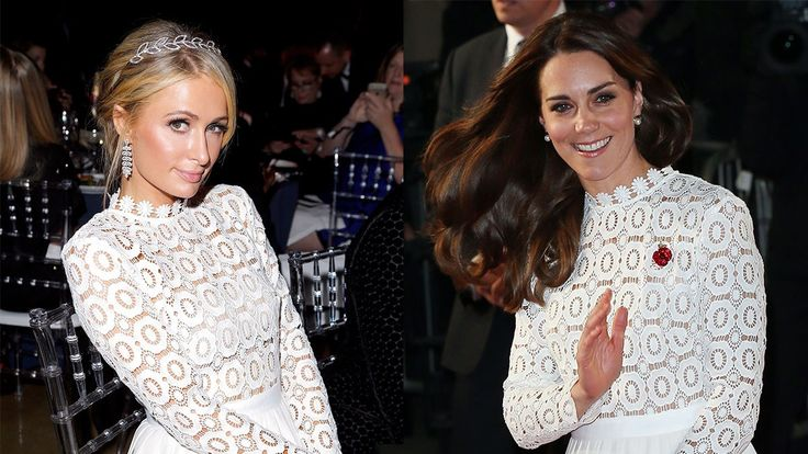 Kate Middleton Just Copied Paris Hilton's Style for a Red Carpet Event