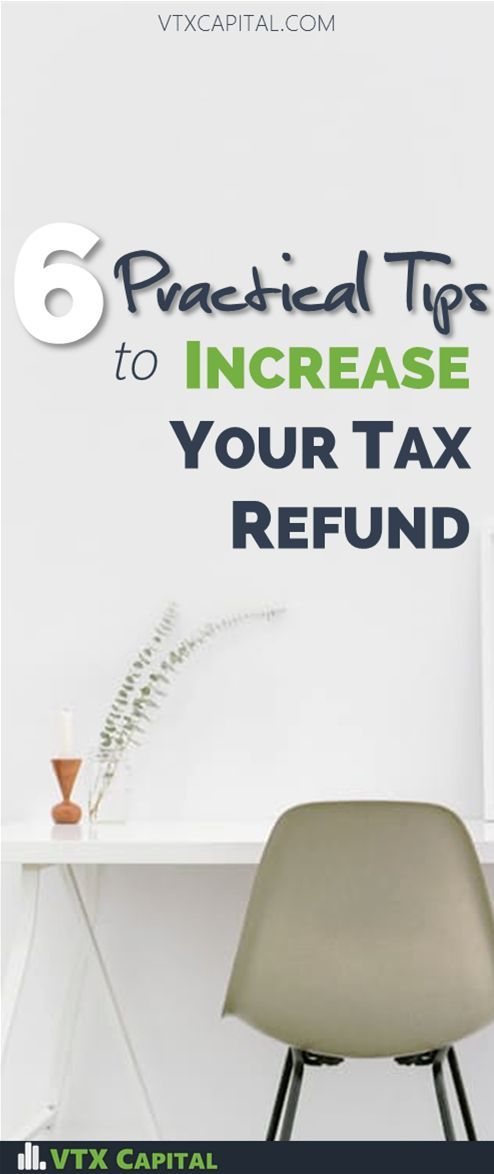 Tax Planning Tips | Increase Tax Refund | Financial Planning Tips | Personal Finance Tips | Tax Return Ideas