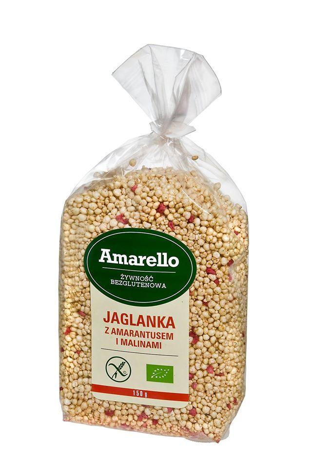 Na drugie śniadanie polecamy jaglankę z amarantusem i malinami firmy Amarello, z dodatkiem ulubionych bakalii :)https://www.facebook.com/1553705908207590/photos/pcb.1662130747365105/1662125344032312/?type=1&theater