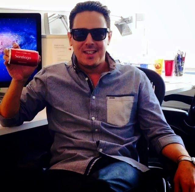 #SantiagoCortes , publicista colombiano, creativo de la agencia Ogilvy encargado de la cuenta de Coca-Cola para el mercado hispano en Estados Unidos. #VallasyAvisosMedellin #PublicistasFamosos #HistoriaPublicitaria
