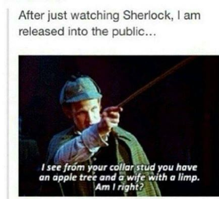 Sherlock mode <<< ah yes, but you see, that's The Eleventh Doctor, in pretty sure. Looks like him.