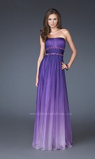 41 best images about bridesmaids on pinterest ombre for Purple ombre wedding dress