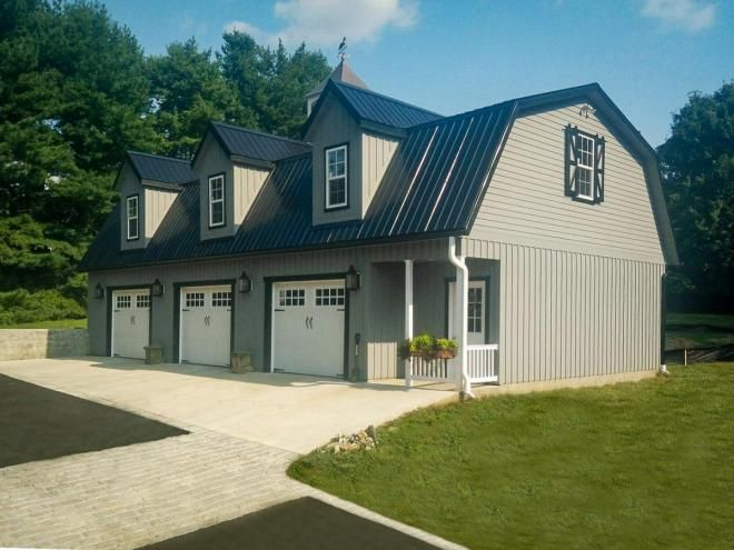 Pin On House Plans, How Much Does It Cost To Have A Detached Garage Built