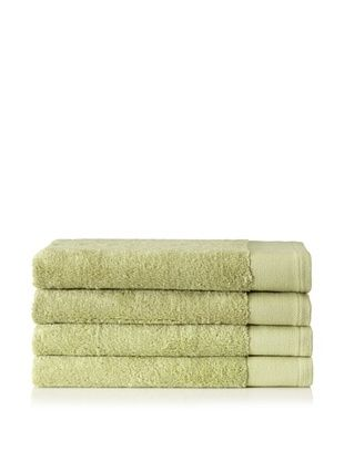 80% OFF Schlossberg Set of 4 Interio Hand Towels, Kiwi
