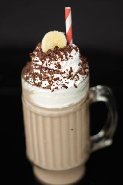 boozy banana milkshake