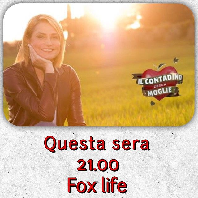 #SimonaVentura Simona Ventura: Il contadino cerca moglie Questa sera ore 21 su Fox Life @foxlifeit Puntata speciale nella quale conoscerete i pretendenti!! #contadinocercamoglie #emozioni #coltiviamolamore