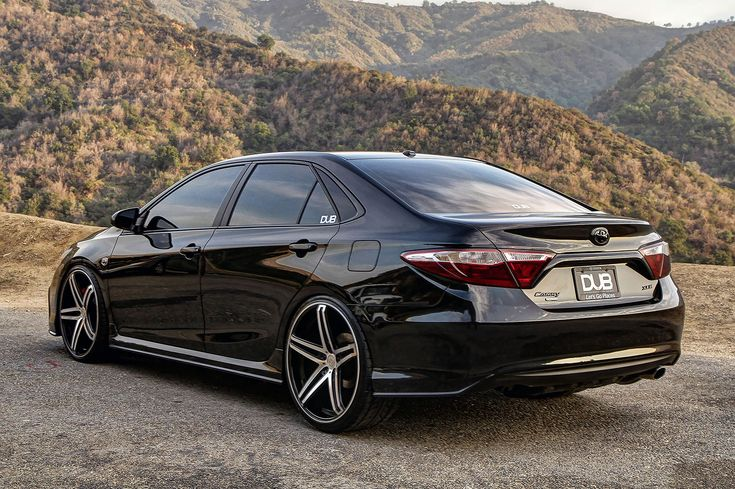 Dub Magazine 2015 Dub Edition Toyota Camry Just Cars