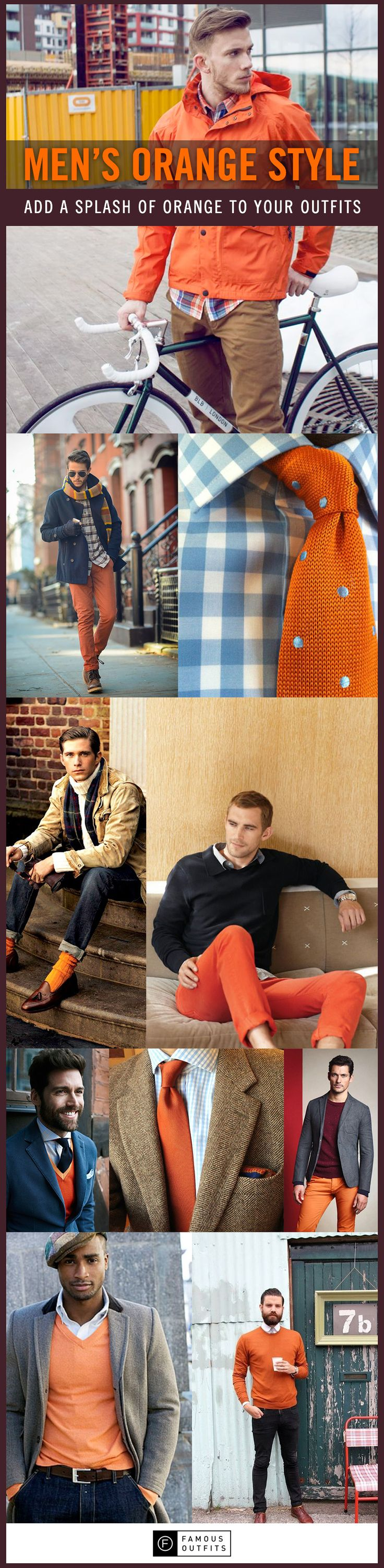 Who says pumpkins are only for fall? Orange is a great color that you can wear to make a splash! You will draw some looks, so make sure you are confident in what you are wearing.