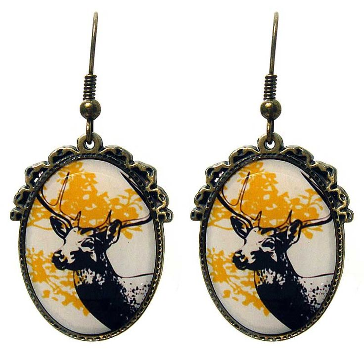 My Deer Earrings