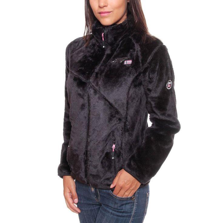 Geographical Norway Women's fleece jacket Jacket: Amazon.co.uk: Clothing