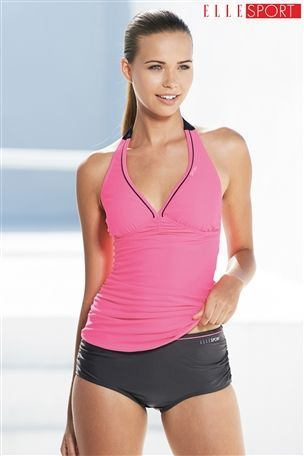 Buy Elle Sport Pink Tankini from the Next UK online shop