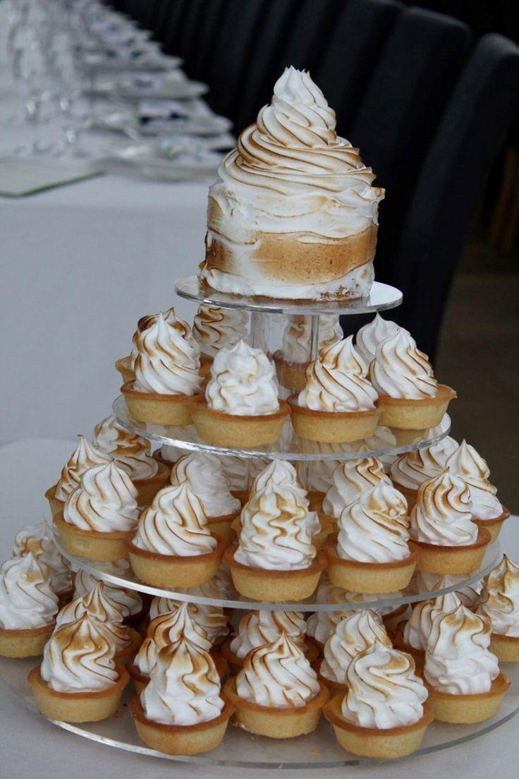 Lemon meringue wedding pies