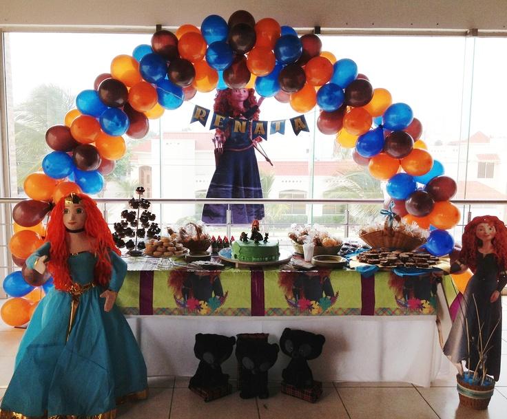 Fiesta princesa valiente braveparty fiesta valiente for Decoracion fiesta jardin