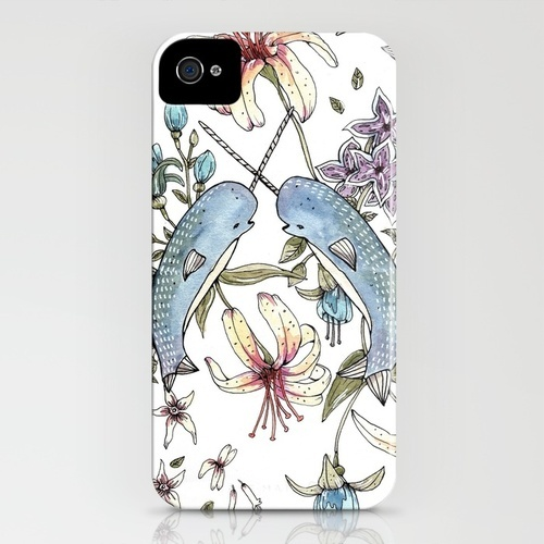 Narwhal pattern iPhone Case: Narwhals Patterns, Patterns Iphone