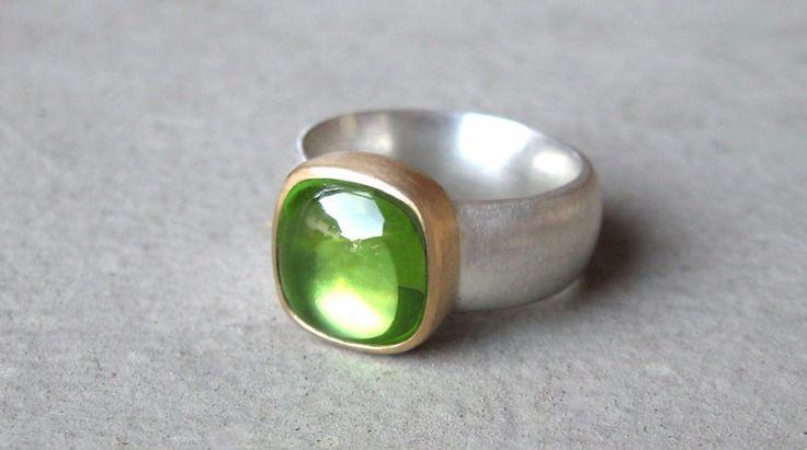 Ringe - Peridot Ring - ein Designerstück von SINNlich bei DaWanda
