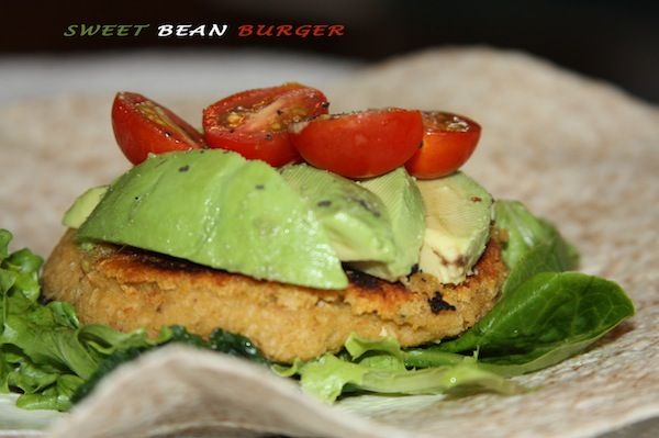 Bean burger! This is so much better than store bought frozen kind as control the ingredients and no preservatives. This website is awesome by the way. Healthy adjustments.ca
