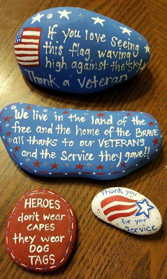 Veteran rocks