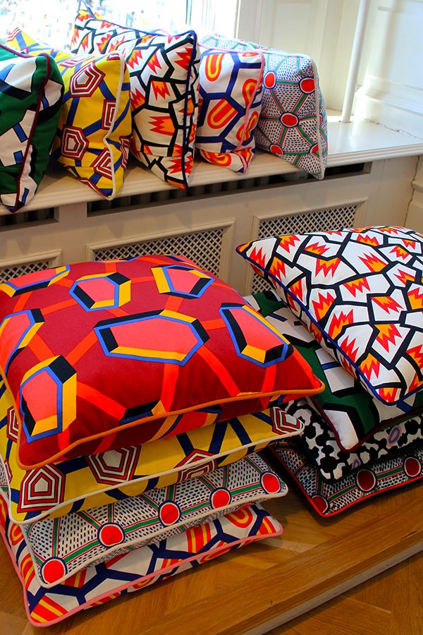 Patterns! Cushions at Hay Copenhagen