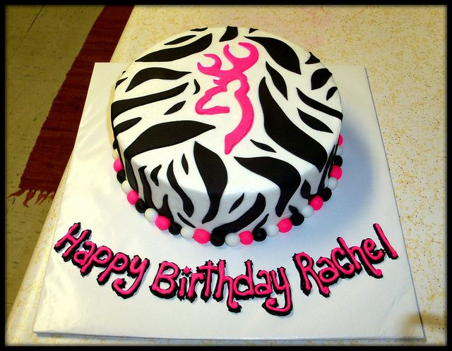 Browning Birthday Cakes For Girls | 104_3689 | Flickr - Photo Sharing!