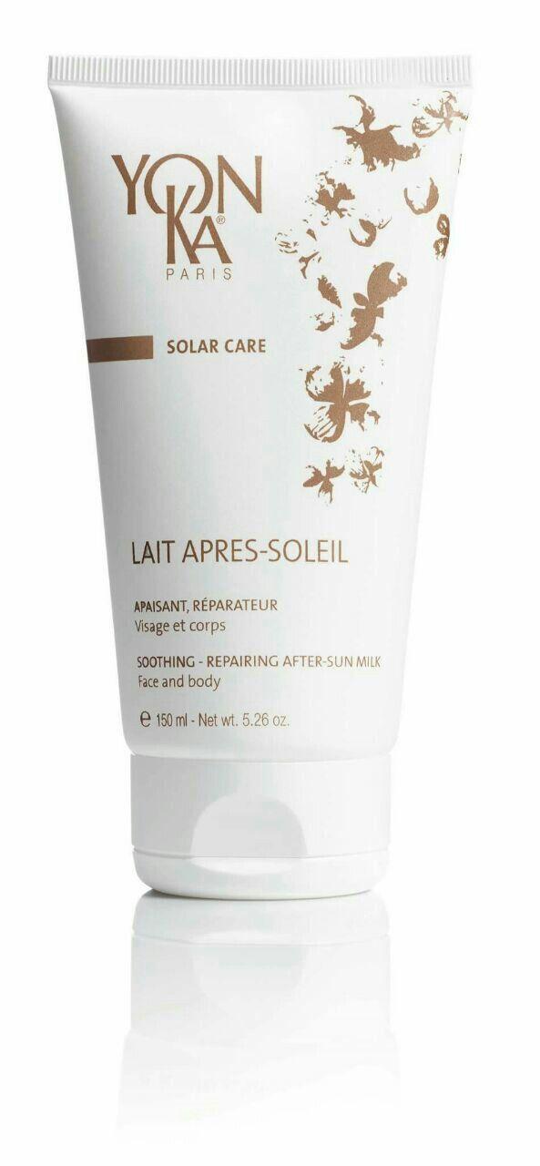 Lait Apress Soleil después del ☀ Sol,  lo mejor es hidratar con cremas altamente nutritivas y que refrescen la piel. Con Camomila,  tilo, aloe vera.