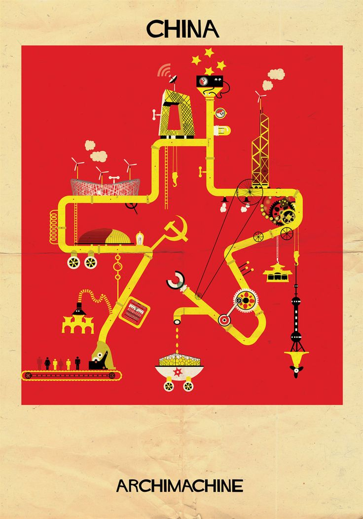 12 | 17 Posters Based On The Architecture Of 17 Nations | Co.Design | business + design