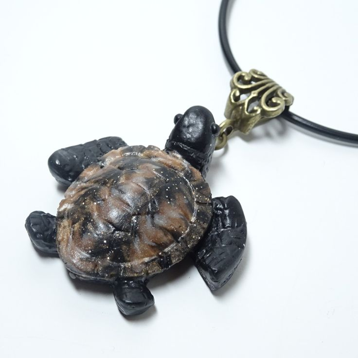 Turtle Necklace, Turtle Pendant, Sea Turtle Necklace, Sea turtle Pendant, Turtle Jewelry, Gift for him, gift for her by TakamiCrafts on Etsy