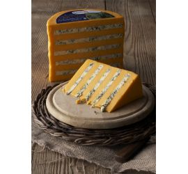 Double Gloucester Cheese with Stilton | Ilchester British Specialty Cheeses | DCI Cheese Company