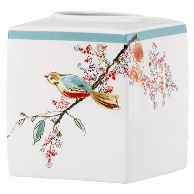 Lenox Chirp Tissue Box Holder & Reviews   Wayfair