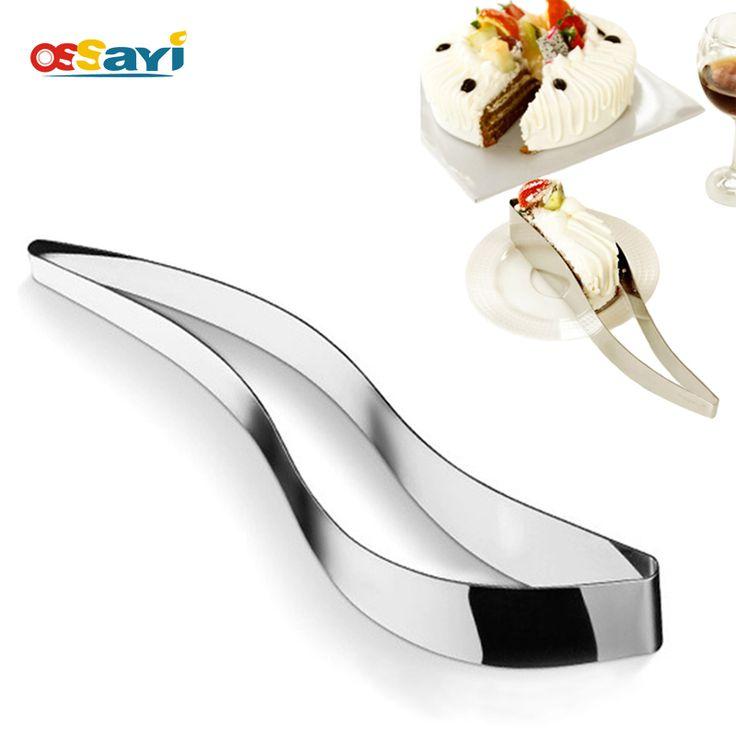 Kue slicer server kue stainless steel cookie cutters fondant alat dessert pie pisau cutter cetakan diy roti kue slicer logam
