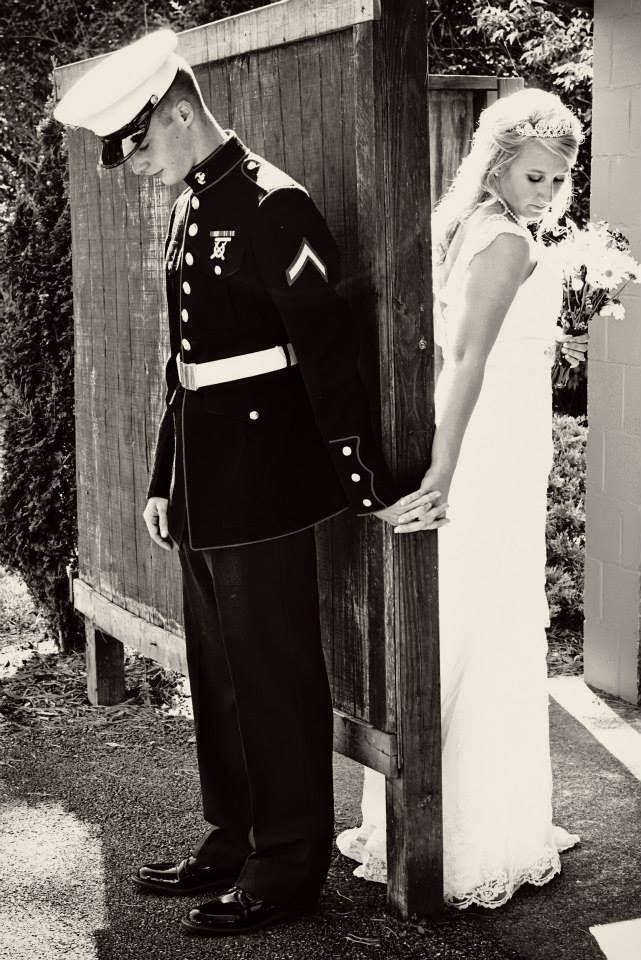 Prayer Before The Wedding ❤️Marine Corps Wedding