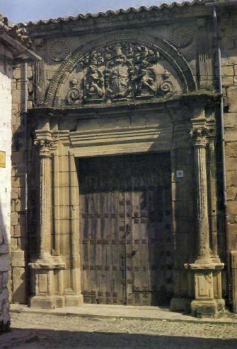 Casa Palacio de los Manueles, Úbeda. Jáen.